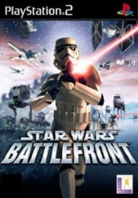 Copertina del gioco Star Wars Battlefront per PlayStation 2
