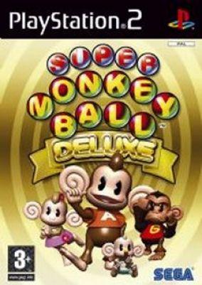 Immagine della copertina del gioco Super Monkey Ball Deluxe per PlayStation 2