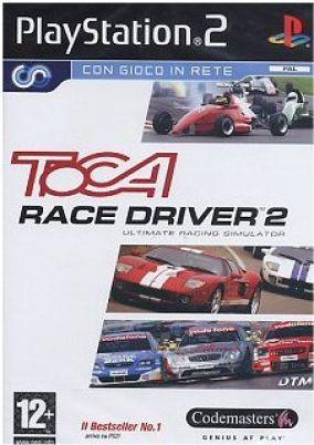 Copertina del gioco TOCA Race Driver 2 per PlayStation 2