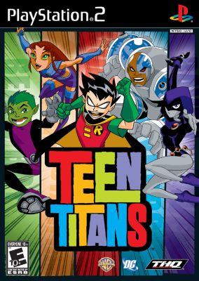 Immagine della copertina del gioco Teen Titans per PlayStation 2
