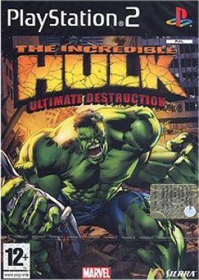 Copertina del gioco The Incredible Hulk: Ultimate Destruction per PlayStation 2