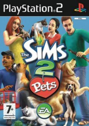 Immagine della copertina del gioco The Sims 2 Pets per Playstation 2