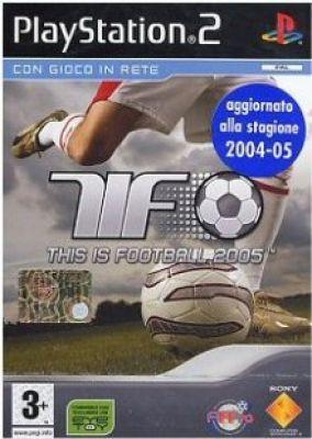 Copertina del gioco This is Football 2005 per PlayStation 2