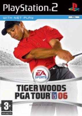 Copertina del gioco Tiger Woods PGA Tour 2006 per PlayStation 2