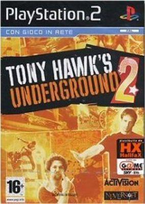 Copertina del gioco Tony Hawk's Underground 2 per PlayStation 2