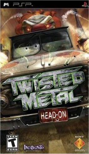 Immagine della copertina del gioco Twisted Metal: Head On per PlayStation PSP