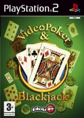 Copertina del gioco Video Poker & Blackjack per PlayStation 2