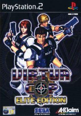Copertina del gioco Virtua Cop: Elite Edition per PlayStation 2