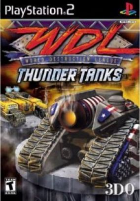 Copertina del gioco WDL Thunder Tanks per PlayStation 2