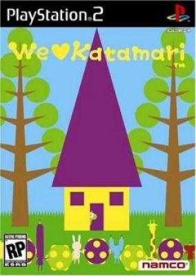 Copertina del gioco We Love Katamari per PlayStation 2