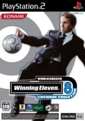 Copertina del gioco Winning Eleven 8: Liveware Evolution per PlayStation 2