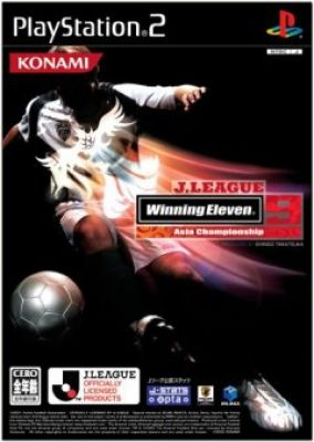 Immagine della copertina del gioco Winning Eleven 9 J-League Asia Championship per PlayStation 2