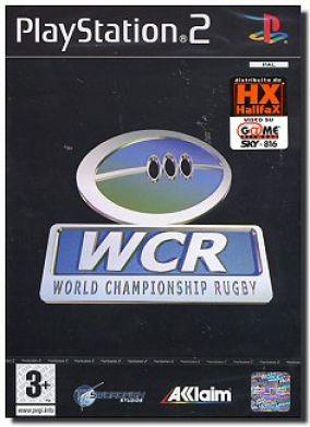 Copertina del gioco World Championship Rugby per PlayStation 2