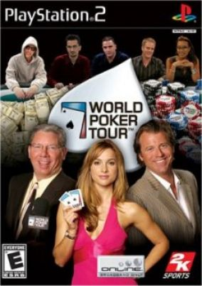 Copertina del gioco World Poker Tour per PlayStation 2