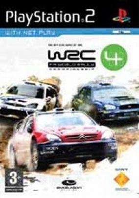 Copertina del gioco World Rally Championship 4 per PlayStation 2