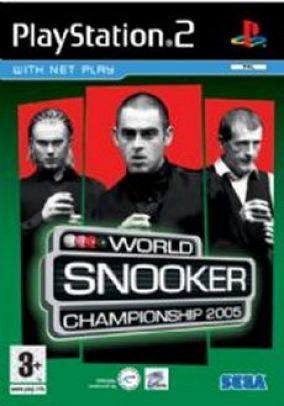 Copertina del gioco World Snooker Championship 2005 per PlayStation 2