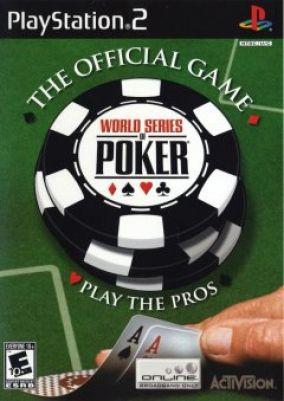 Copertina del gioco World series of poker per PlayStation 2