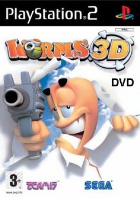 Copertina del gioco Worms 3D per PlayStation 2