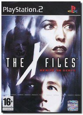 Immagine della copertina del gioco X-Files: Resist or Serve per PlayStation 2