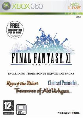 Copertina del gioco Final Fantasy XI per Xbox 360