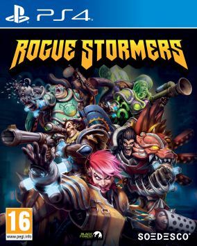 Immagine della copertina del gioco Rogue Stormers per PlayStation 4