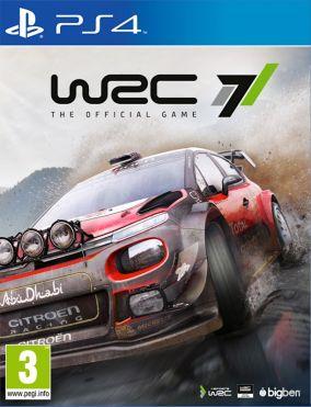 Immagine della copertina del gioco WRC 7 per PlayStation 4