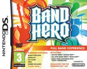 Immagine della copertina del gioco Band Hero per Nintendo DS