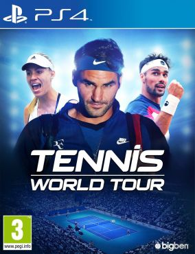 Immagine della copertina del gioco Tennis World Tour per PlayStation 4