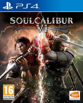 Immagine della copertina del gioco Soul Calibur VI per PlayStation 4