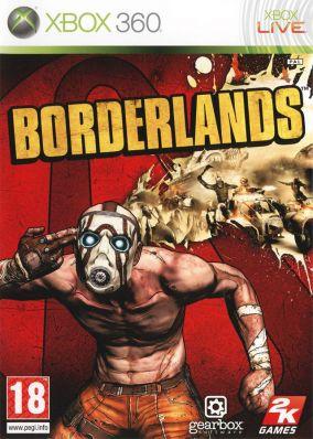 Copertina del gioco Borderlands per Xbox 360