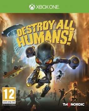 Copertina del gioco Destroy All Humans! per Xbox One