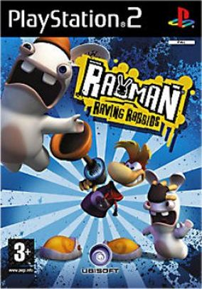 Immagine della copertina del gioco Rayman: Raving Rabbids per PlayStation 2