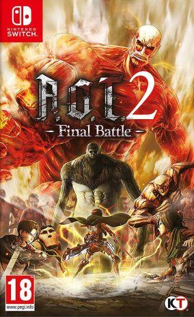 Copertina del gioco Attack on Titan 2: Final Battle per Nintendo Switch