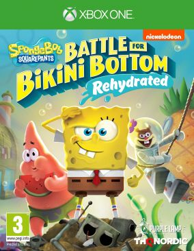 Copertina del gioco Spongebob SquarePants: Battle for Bikini Bottom - Rehydrated per Xbox One