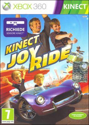 Copertina del gioco Kinect Joy Ride per Xbox 360