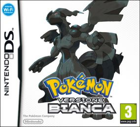Copertina del gioco Pokemon Versione Bianca per Nintendo DS