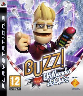 Immagine della copertina del gioco Buzz! Un Mondo Di Quiz per PlayStation 3