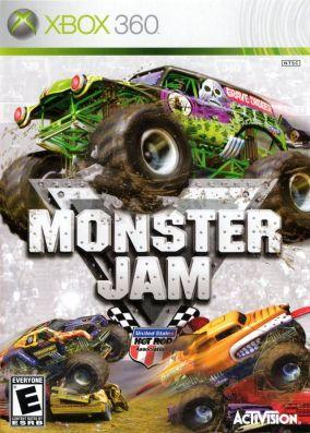 Copertina del gioco Monster Jam per Xbox 360