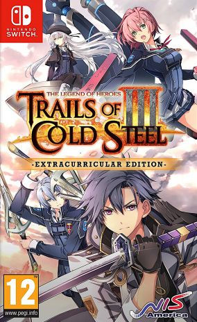 Immagine della copertina del gioco The Legend of Heroes: Trails of Cold Steel III per Nintendo Switch