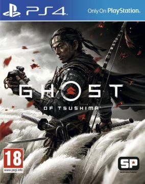 Immagine della copertina del gioco Ghost of Tsushima per PlayStation 4