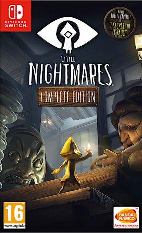 Immagine della copertina del gioco LITTLE NIGHTMARES Complete Edition per Nintendo Switch