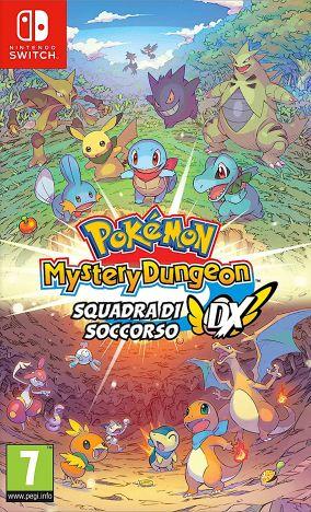 Copertina del gioco Pokémon Mistery Dungeon: Squadra di Soccorso DX per Nintendo Switch
