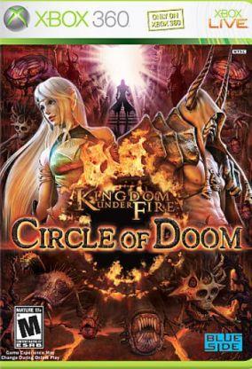 Copertina del gioco Kingdom Under Fire: Circle of Doom per Xbox 360