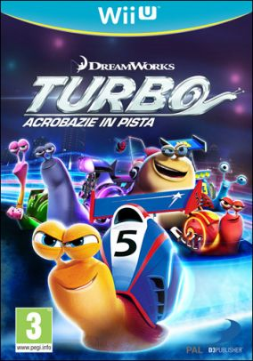 Immagine della copertina del gioco Turbo Acrobazie in pista per Nintendo Wii U