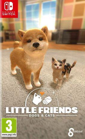 Copertina del gioco Little Friends: Dogs & Cats per Nintendo Switch
