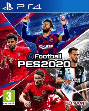 Copertina del gioco eFootball PES 2020 per PlayStation 4