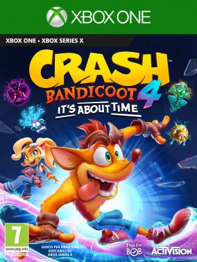 Copertina del gioco Crash Bandicoot 4: It's About Time per Xbox One