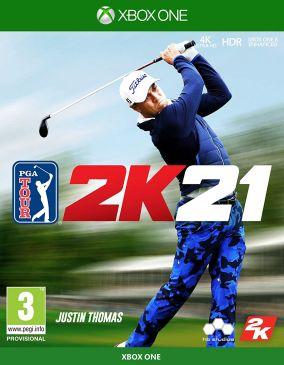Copertina del gioco PGA Tour 2K21 per Xbox One