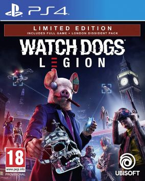 Copertina del gioco Watch Dogs Legion per PlayStation 4