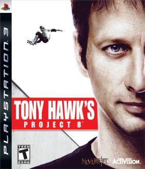 Copertina del gioco Tony Hawk's Project 8 per PlayStation 3